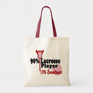 Lacrosse Sweetheart Tote Bag