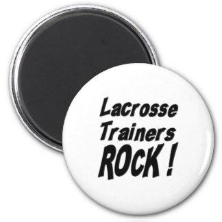Lacrosse Trainers Rock! Magnet
