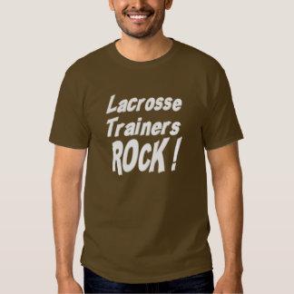 Lacrosse Trainers Rock! T-shirt