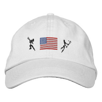 Lacrosse United States Lacrosse Embroidered Cap