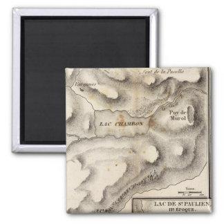 Lacs volcaniques square magnet