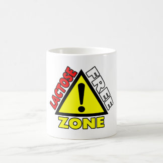 Lactose Free Zone (Dairy Free) Coffee Mug