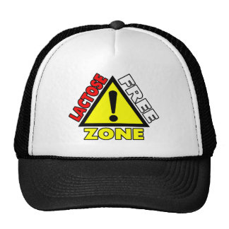 Lactose Free Zone (Dairy Free) Hat