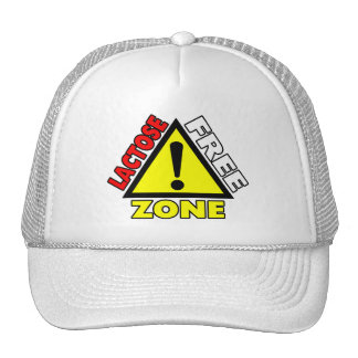 Lactose Free Zone Dairy Free Mesh Hat