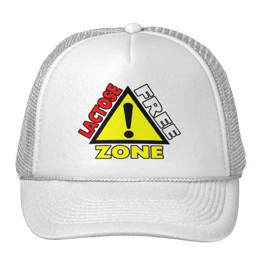 Lactose Free Zone (Dairy Free) Mesh Hat