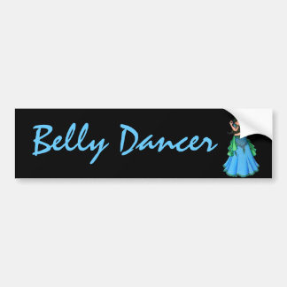 Lacy Belly Dancer Bumper Sticker