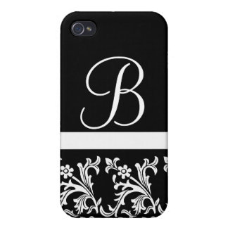 Lacy Black Custom iPhone case Cases For iPhone 4