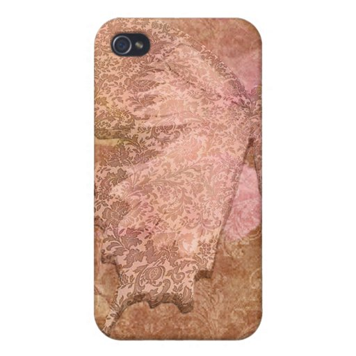 Lacy Butterfly iPhone 4 Cover
