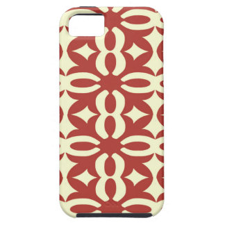 Lacy Cherry Victorian Print Case For The iPhone 5