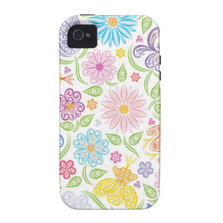 Lacy Floral iPhone 4 Case