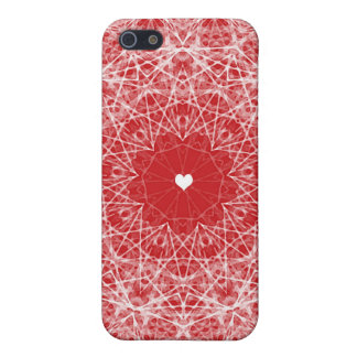 Lacy Heart Phone Case iPhone 5/5S Case