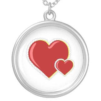 Lacy Hearts Pendants