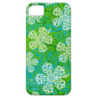 Lacy Hibiscus Pattern iPhone 5 Case