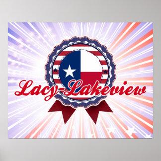 Lacy-Lakeview TX Print