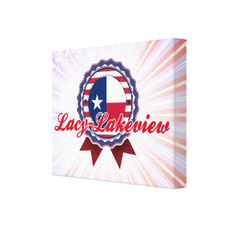 Lacy-Lakeview TX Stretched Canvas Prints