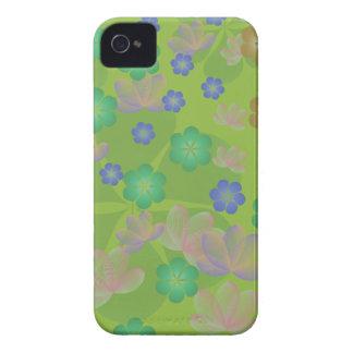 Lacy Lotus Green Blackberry Case