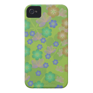 Lacy Lotus Green iPhone 4 Case