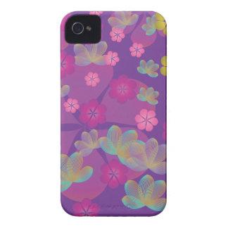 Lacy Lotus Purple Blackberry Case