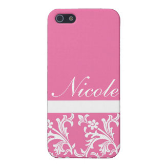 Lacy Pink Custom iPhone case iPhone 5/5S Cases
