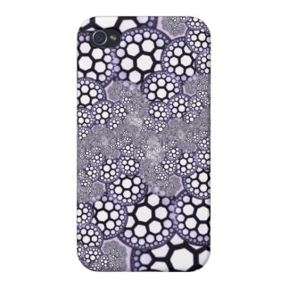 lacy purple fractal iphone cover covers for iPhone 4