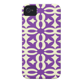 Lacy Purple Victorian Print iPhone 4 Cover