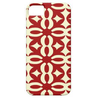 Lacy Red Victorian Print iPhone 5 Cover