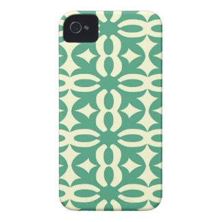 Lacy Seafoam Green Victorian Print Case-Mate iPhone 4 Case