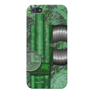Lacy Steampunk Greens Speck Case iPhone4 iPhone 5/5S Cases