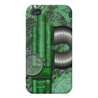 Lacy Steampunk Greens Speck Case iPhone4 iPhone 4/4S Case