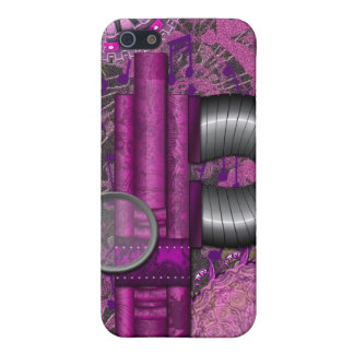 Lacy Steampunk Purple Speck Case iPhone4 iPhone 5 Case