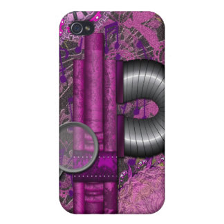 Lacy Steampunk Purple Speck Case iPhone4 iPhone 4 Cover