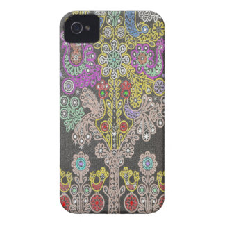 Lacy Tree Art iPhone 4 Barely There Case