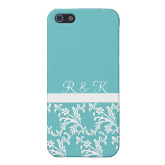 Lacy Turquoise Custom iPhone case iPhone 5/5S Case