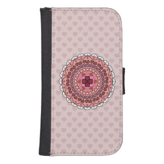 Lacy Valentine's Day Smartphone Wallet Case