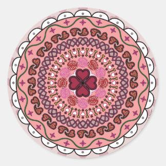 Lacy Valentine's Day Sticker
