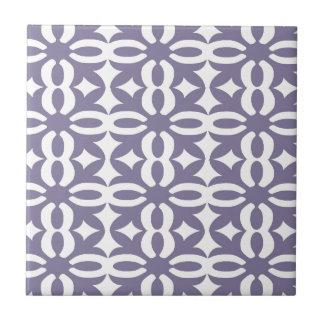 Lacy Wisteria Victorian Print Small Square Tile