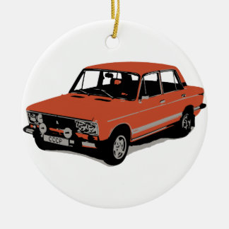 Lada - The Soviet Russian Car Christmas Ornament