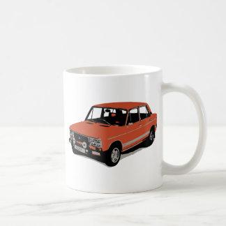 Lada - The Soviet Russian Car Basic White Mug