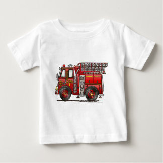 Ladder Fire Truck Firefighter Infant T-Shirt