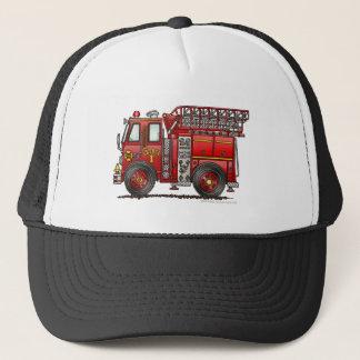 Ladder Fire Truck Firefighter Trucker Hat
