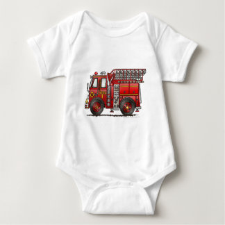 Ladder Fire Truck Firefighter Tshirts