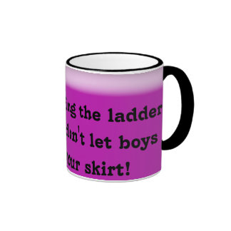 ladder of success ringer mug