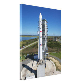 Ladee Ready for Launch Gallery Wrap Canvas