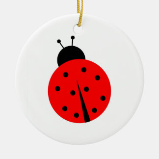 Ladiebug Christmas Ornament