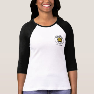 Ladies 3/4 Sleeve Raglan (Fitted) T-Shirt