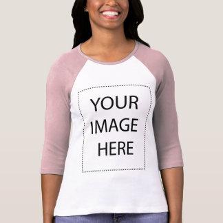 Ladies 3/4 Sleeve Raglan (Fitted) T Shirt
