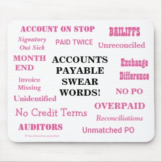 Ladies Accounts Payable Swear Words! Funny AP