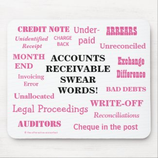 Ladies Accounts Receivable Swear Words! Funny AR