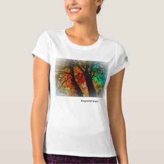 "Ladies activewear ""Trees"" Tee Shirt"