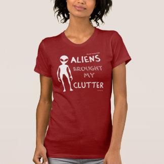 Ladies 'Aliens Brought My Clutter' Tee